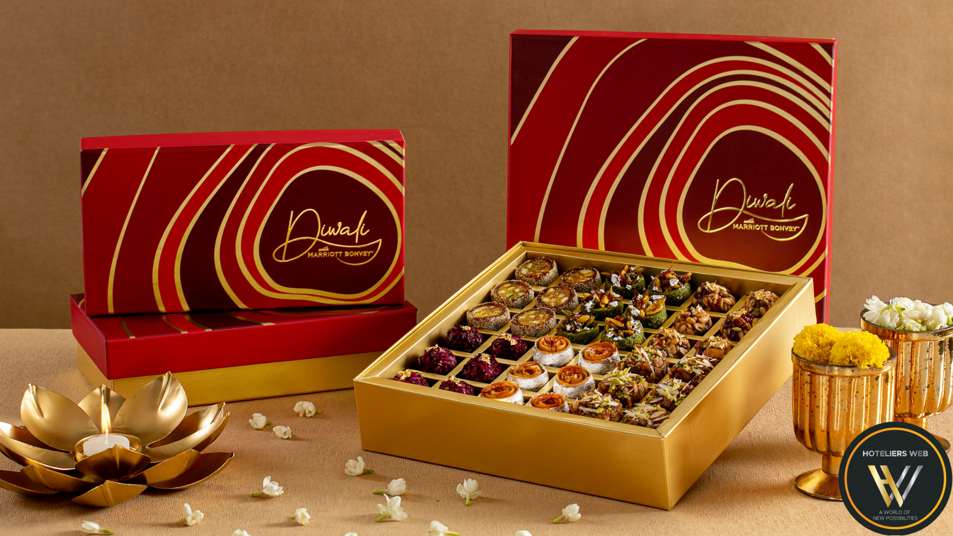 DIWALI WITH MARRIOTT BONVOY BRINGS TO YOU HANDCRAFTED DELICACIES TO SET THE FESTIVE FERVOUR