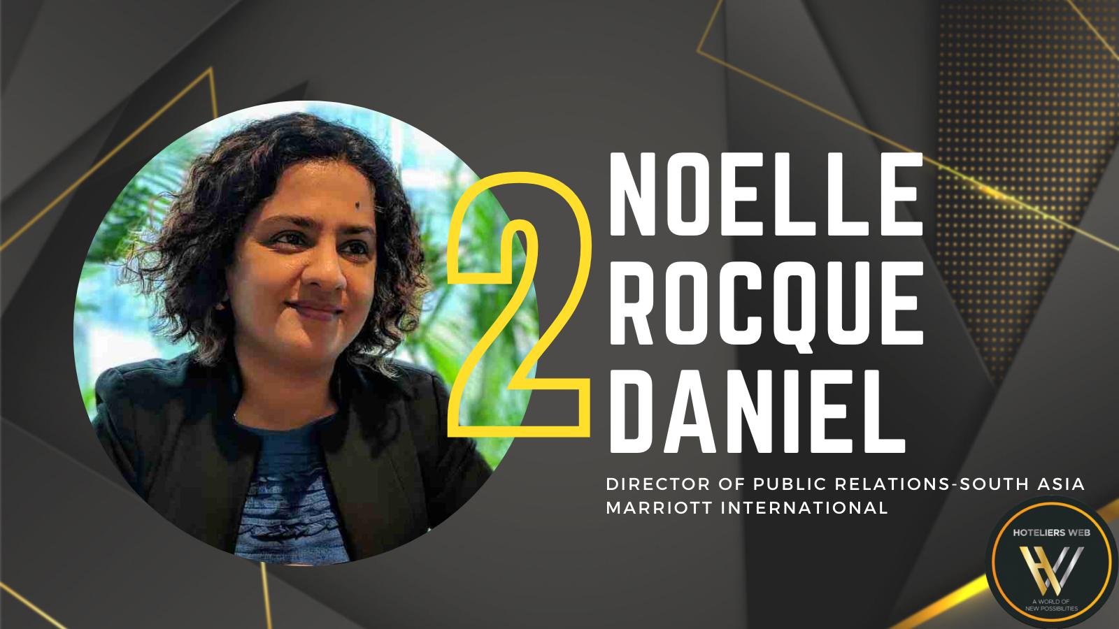 Noelle Rocque Daniel – Ranked 2 on Power 25 Marketing & PR 2021 by Hoteliers Web